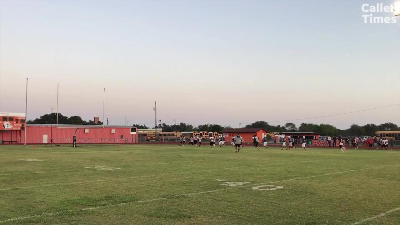 High School Football Scrimmage highlights: Moody v. Orange Grove & Ray vs. Rockport-Fulton
