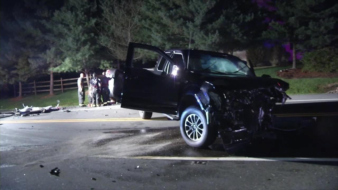Raw Video: Saturday night crash kills man
