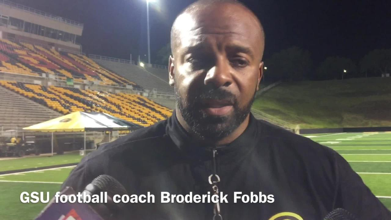 Broderick Fobbs talks Geremy Hickbottom, Aldon Clark QB battle