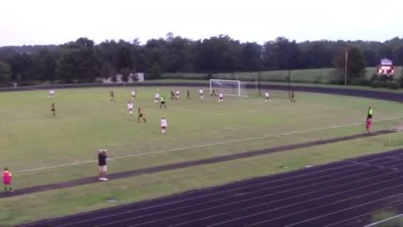 WATCH: Maria Bashardoust's goal at the 18 brought the score to 2-0 and helped Loveland beat West Jessamine Aug. 18, 3-2.