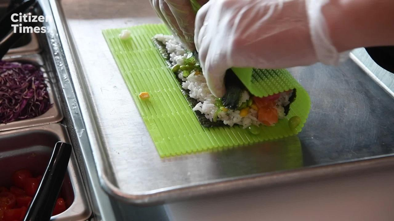 What is a sushi burrito?