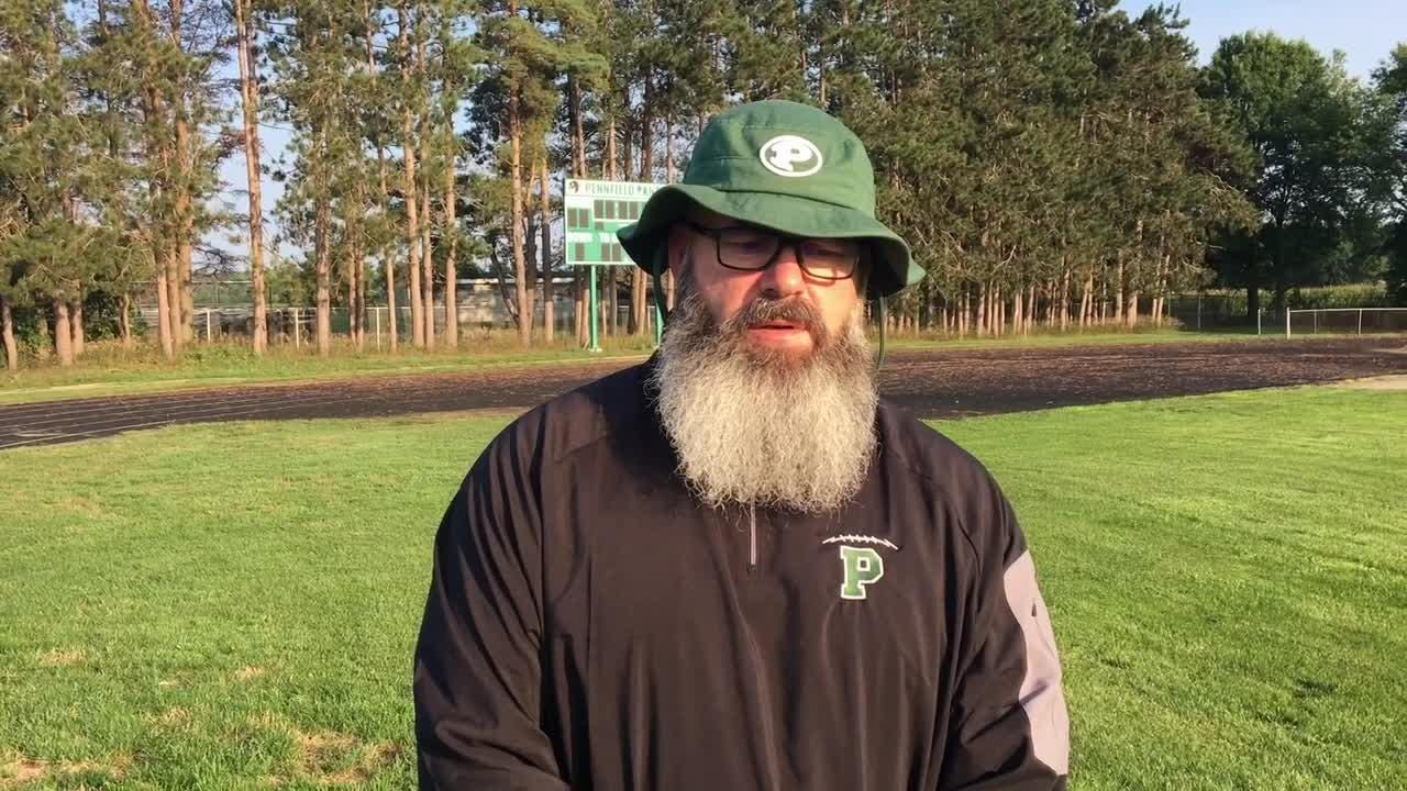 Pennfield football coach Mike Clothier talks about the 2018 season