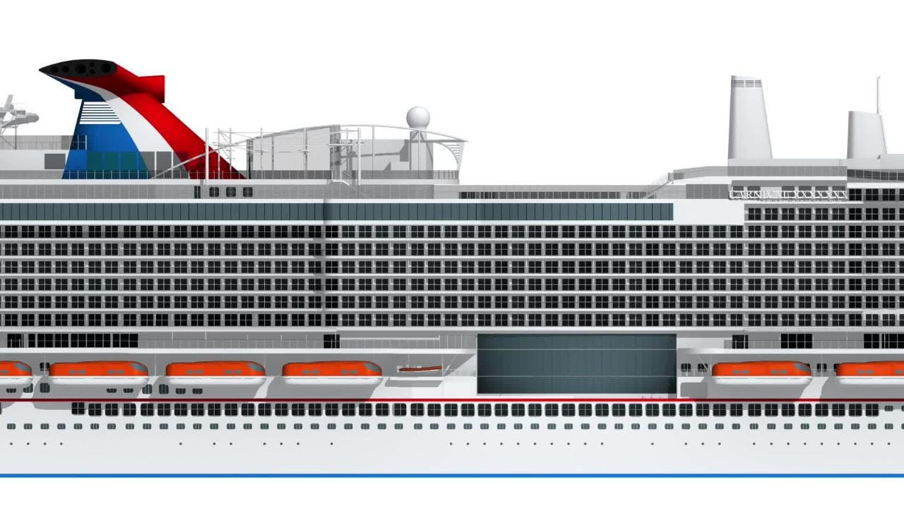 Port Canaveral to get new Carnival cruise ship powered by liquified natural gas.