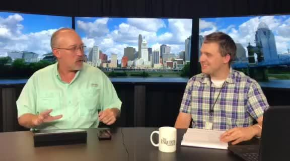 Cincinnati Enquirer sports writers Scott Springer and Shelby Dermer discuss their predictions for week 1 of high school football in Ohio and NKY.