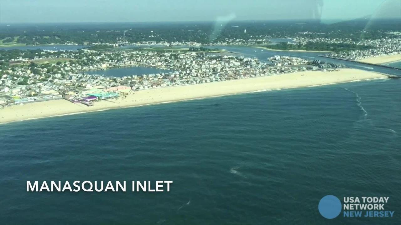 Watch: Get a view of the Jersey Shore from the air