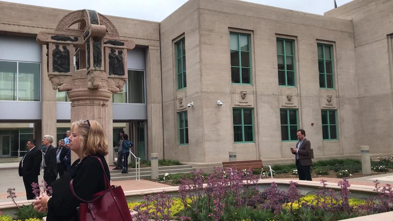 VIDEO Salinas historic courthouse East West Wing celebrate re-opening