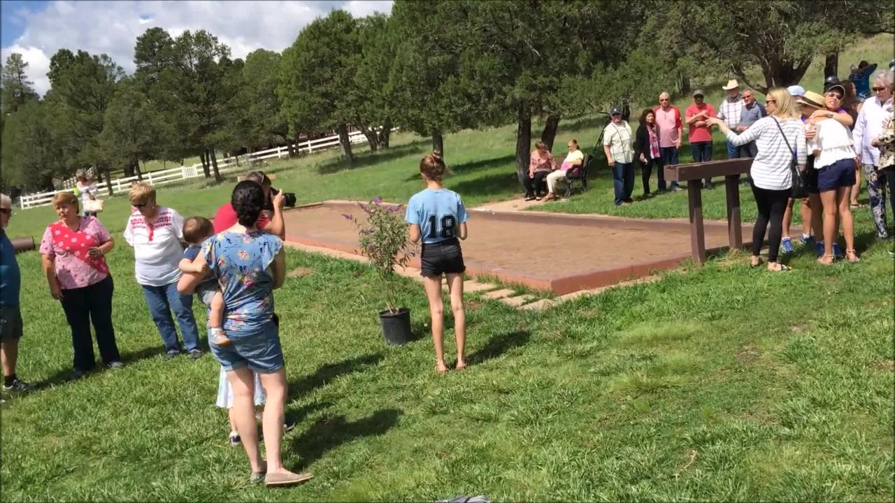 The 2018 butterfly release raised over $7,000 with over 150 people showing up at event support end-of-life care.