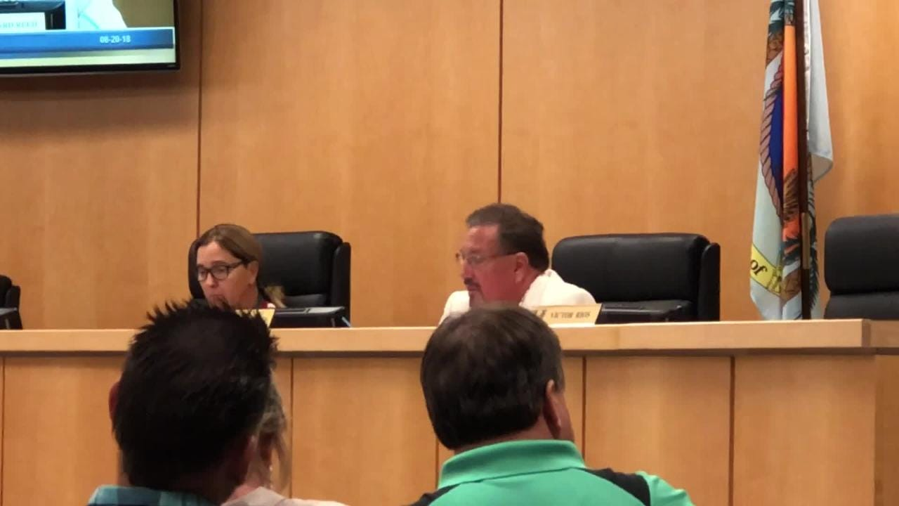 Marco Island City Councilor Howard Reed reiterated concerns with rushing interim city manager search process.