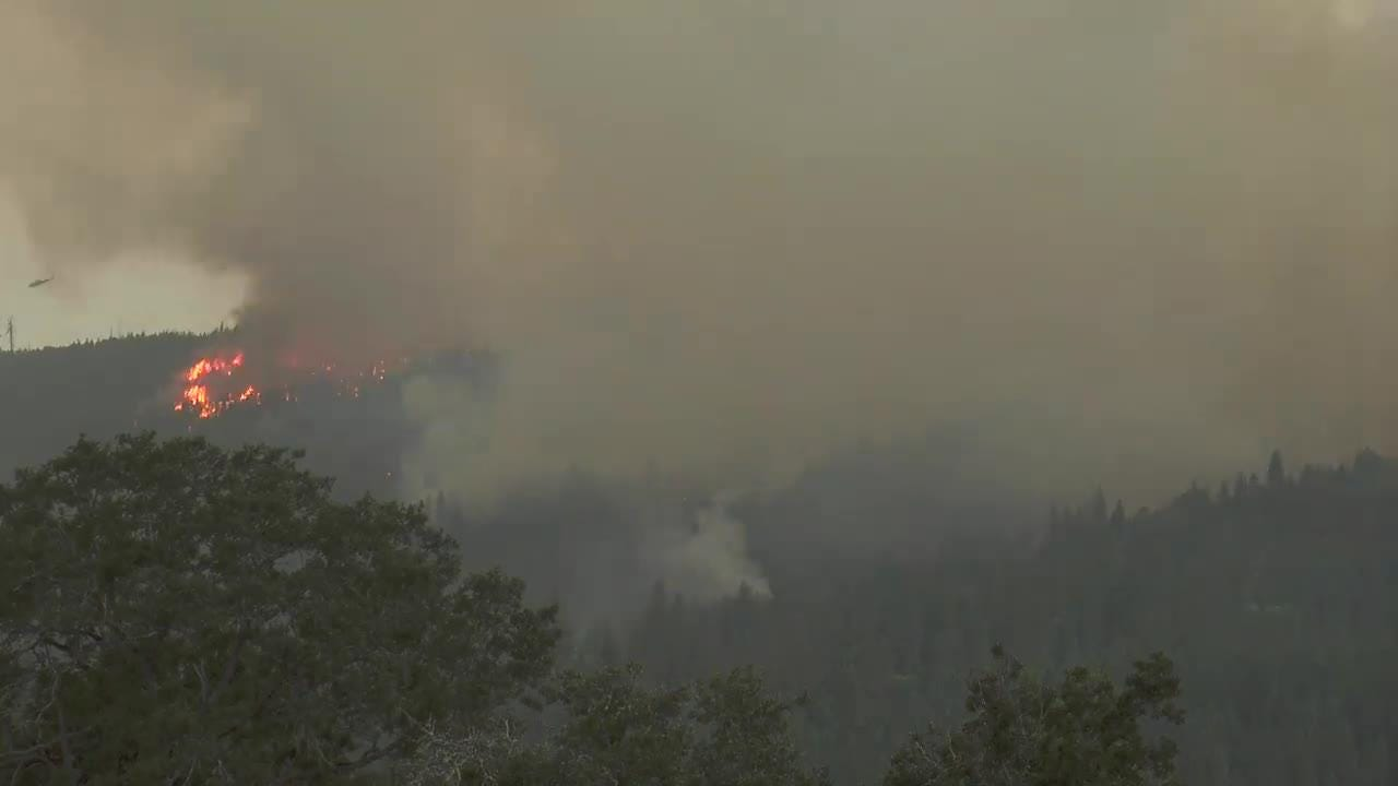 Oregon wildfires: Ramsey Canyon Fire spreads, threatens homes