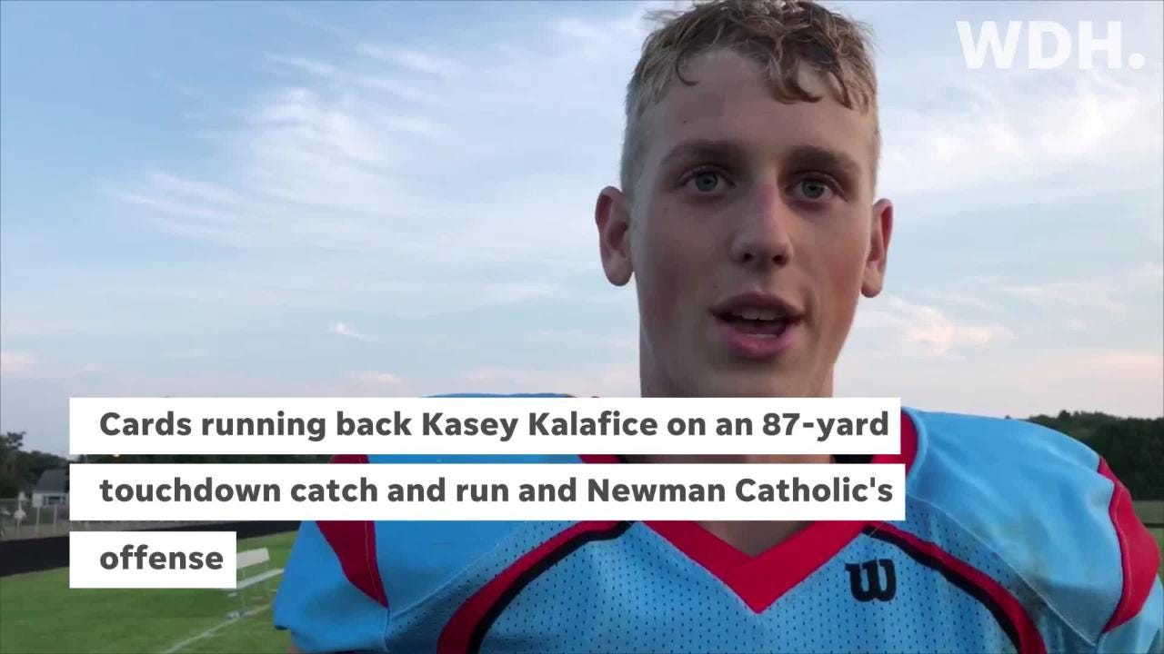 Newman Catholic, Wisconsin Rapids, Edgar, Mosinee and Tri-County were all in action on Thursday during Week 2 of the high school football season.
