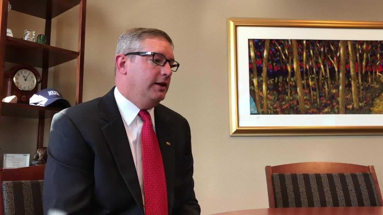KUB CEO Gabe Bolas talks about new job