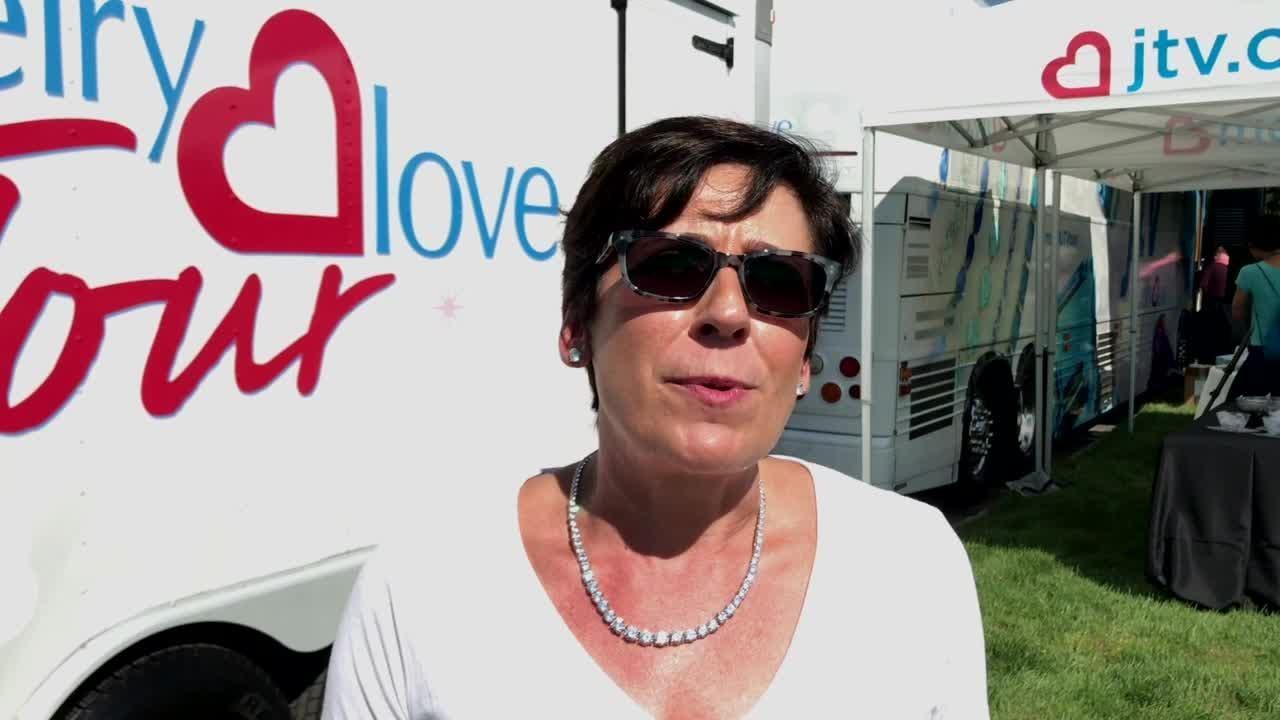Jewelry Television Marketing VP Jill Johnson talks about new Jewelry Love Tour bus