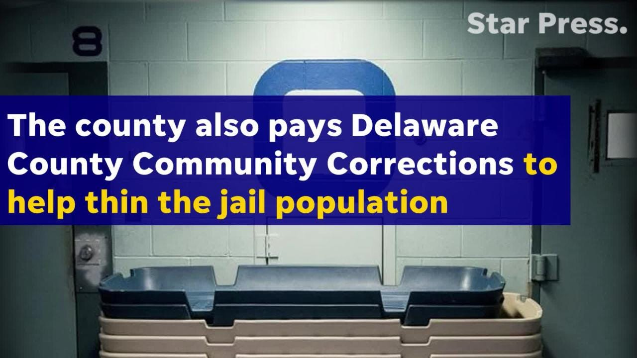 The county will spend more than a half-million dollars this year to get inmates out of the jail to alleviate overcrowding.