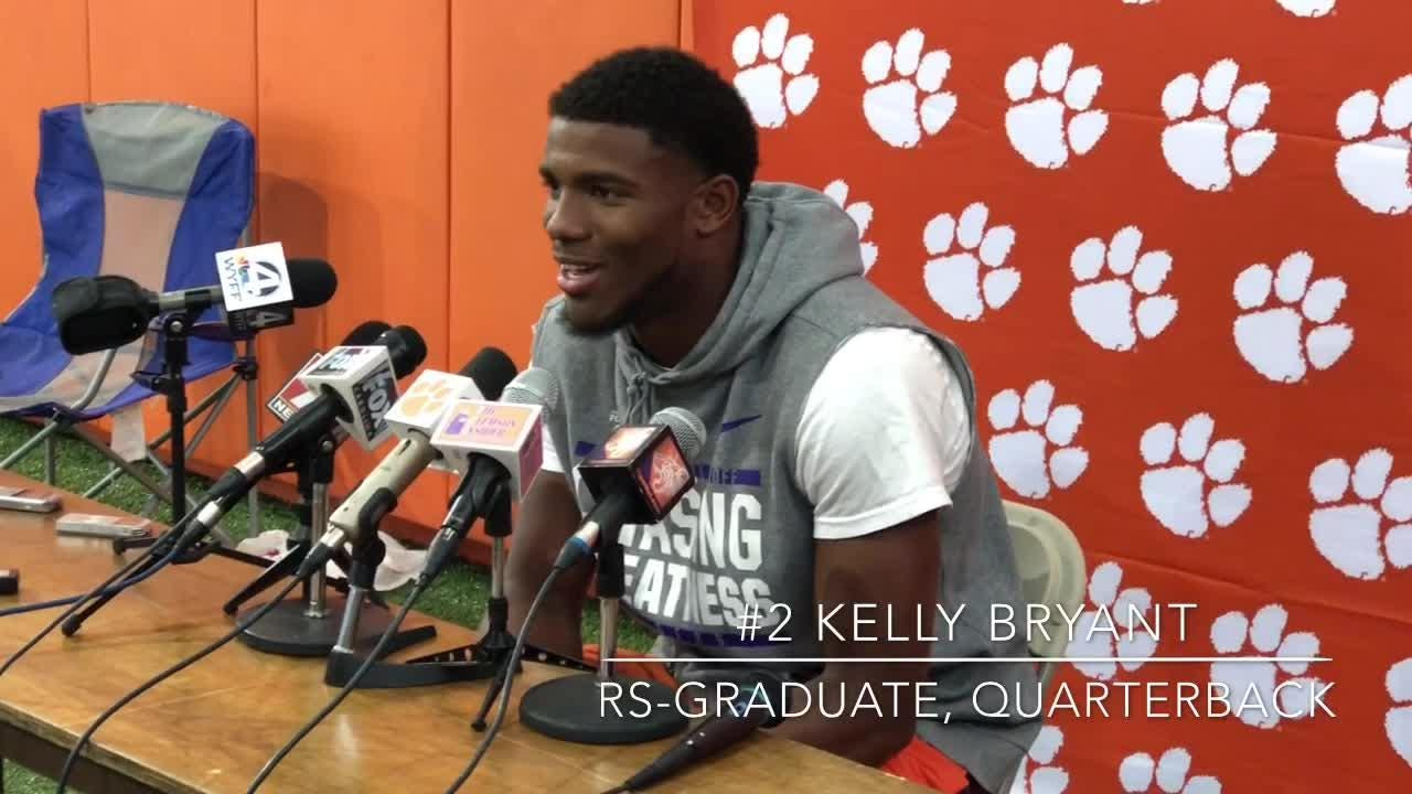 Clemson quarterback Kelly Bryant responds to being named the Tigers' starter for their season opener against Furman on Saturday.