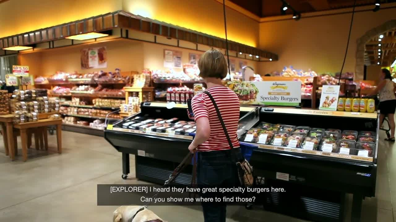 Wegmans introduces use of 'Aira' app to assist blind shoppers