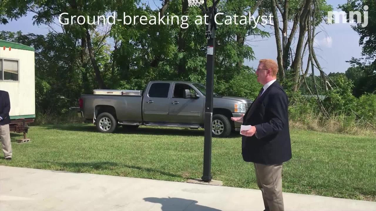 Catalyst Monday celebrated a groundbreaking for a new detox center.