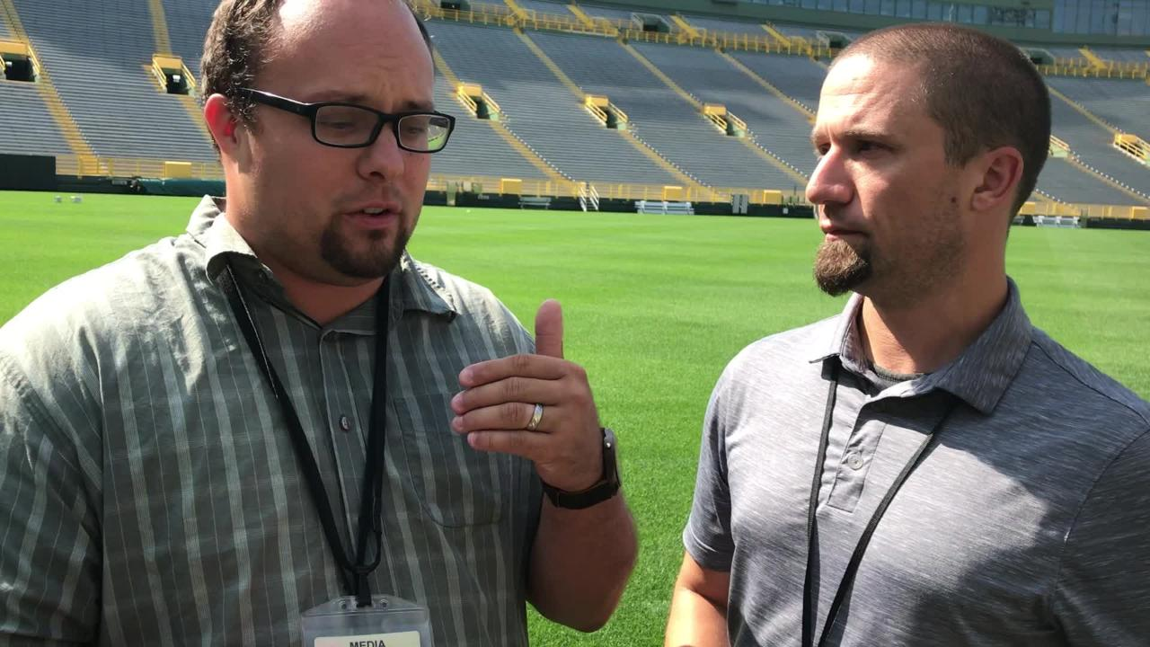 Ryan Wood and Jim Owczarski talk about newly acquired inside linebacker Antonio Morrison and the return to practice of kick returner Trevor Davis.