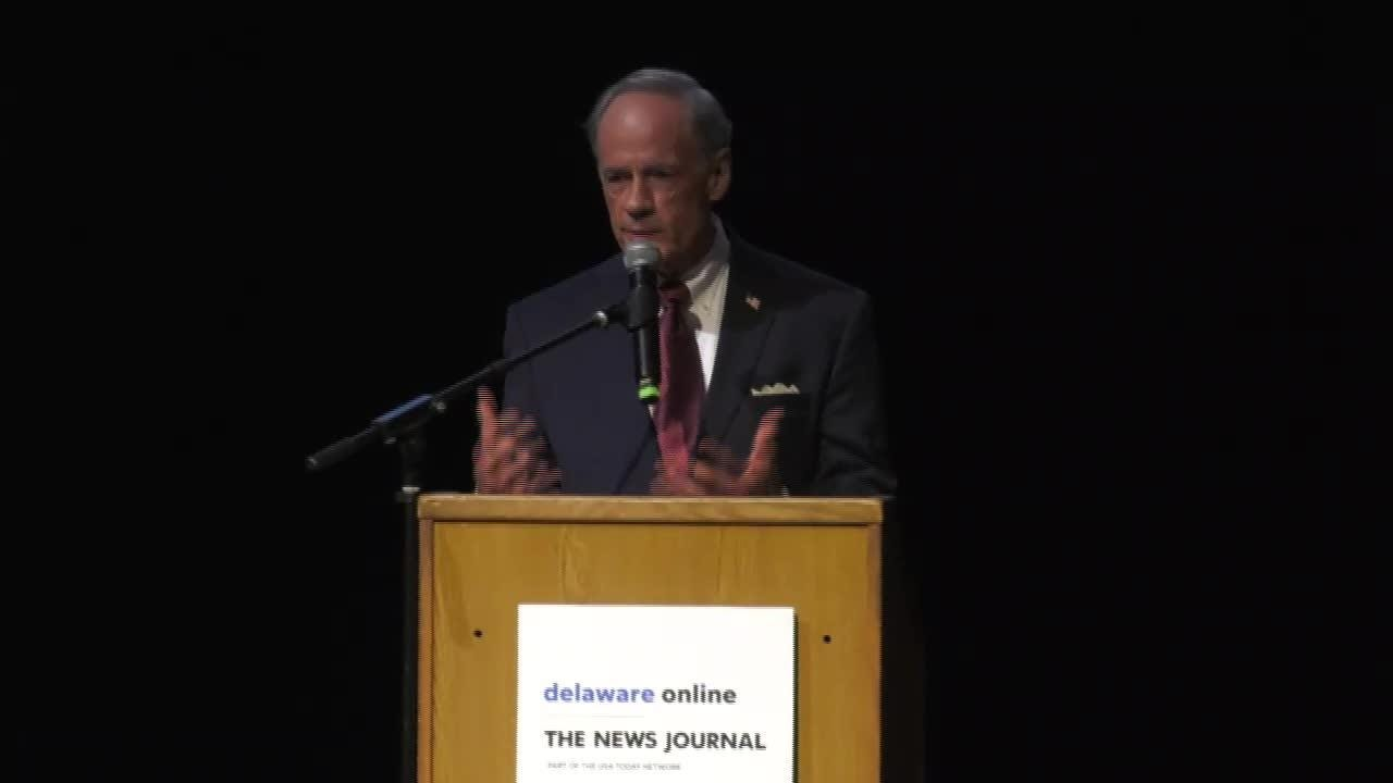 Watch the full replay of the Delaware U S  Senate primary debate