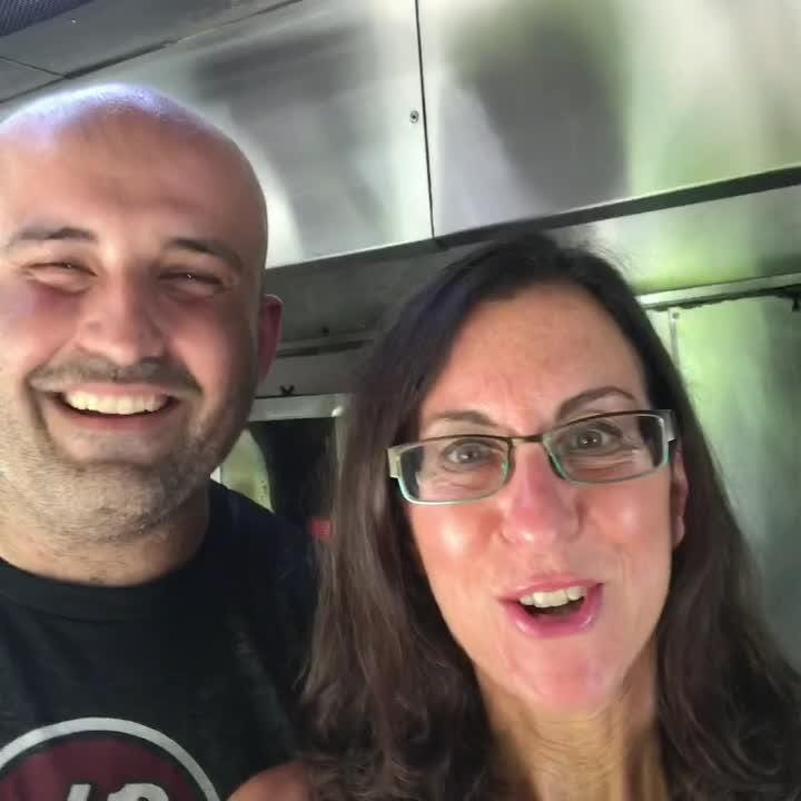 Lohud food reporter Jeanne Muchnick gets on board The Souvlaki Truck in Yonkers today. Stop by to say hi and grab lunch!