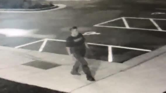 Police are asking for help in searching for an unidentified white man of interest in a shooting incident.