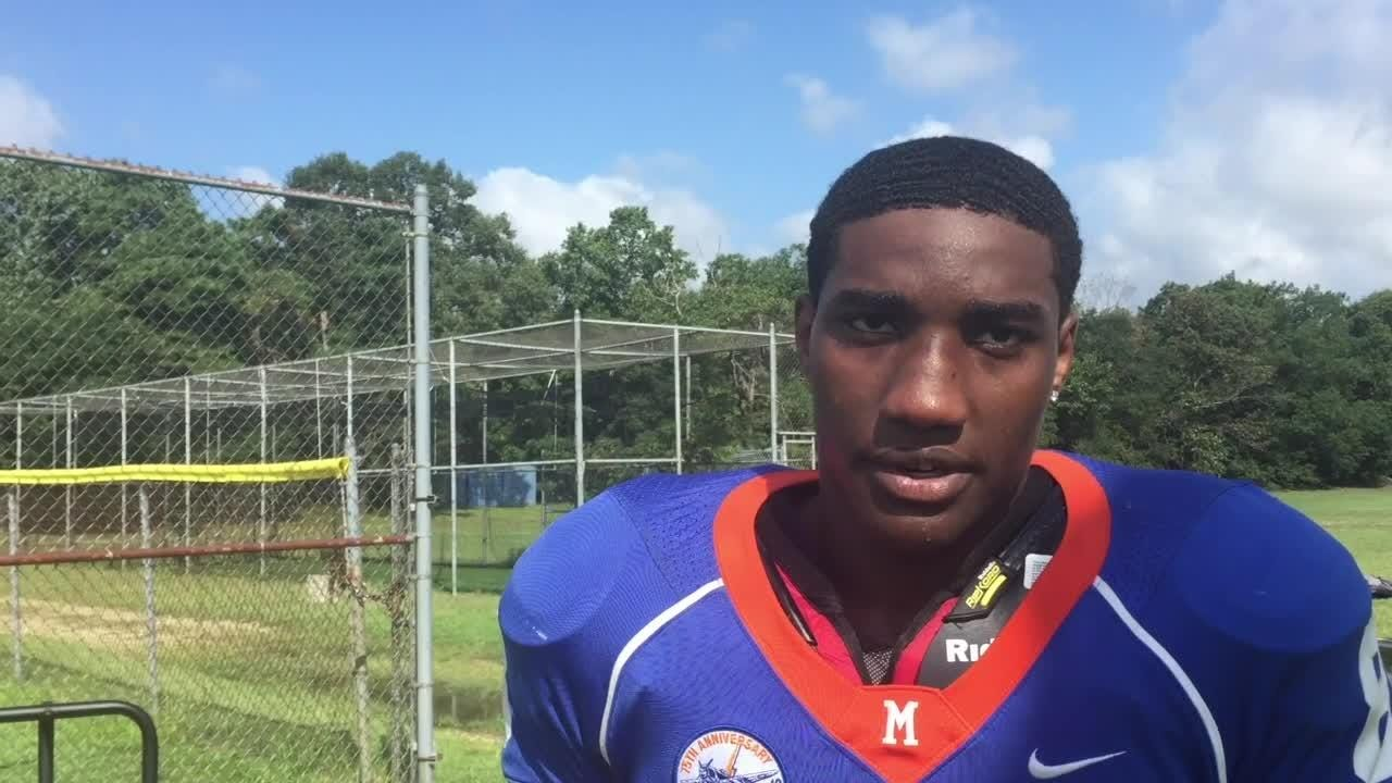 Millville WR Solomon DeShields talks about the upcoming season.