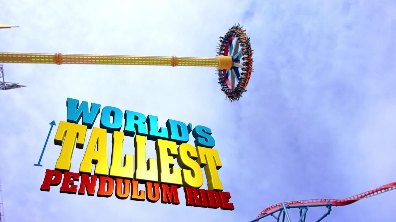 Record Breaking Wonder Woman Ride Announced For Six Flags Great Adventure