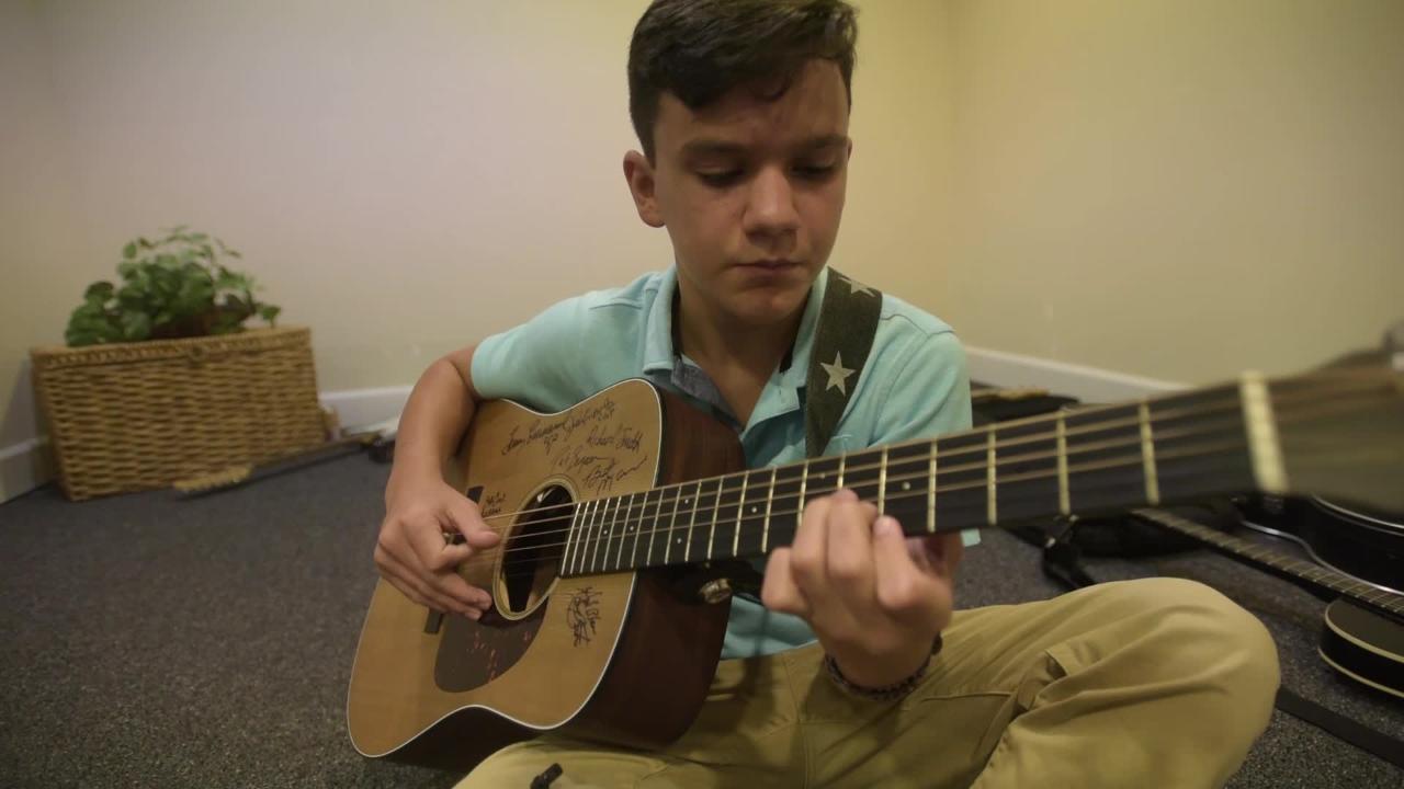 Ben Kennington wins a scholarship with original music