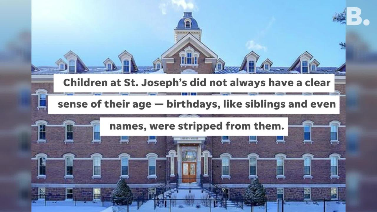 St. Joseph's Orphanage was operated in Burlington by the Sisters of Providence from 1854 to 1974, at its height accommodating over 200 persons.