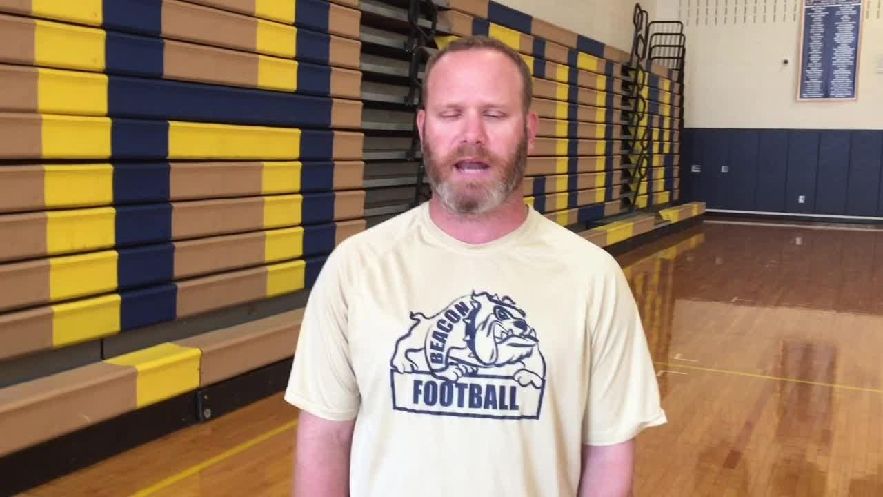 The Beacon High School football team discusses the changes its new head coach has implemented and the program's potential.