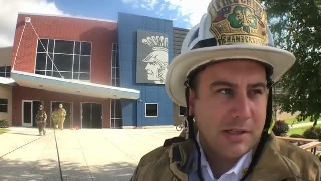 Watch: Chambersburg fire chief discusses CASHS fire