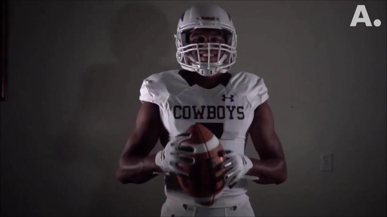 The Hardin-Simmons football team released its new jersey and helmet for the 2018 season. The Cowboys have worn the same helmet since 1990.
