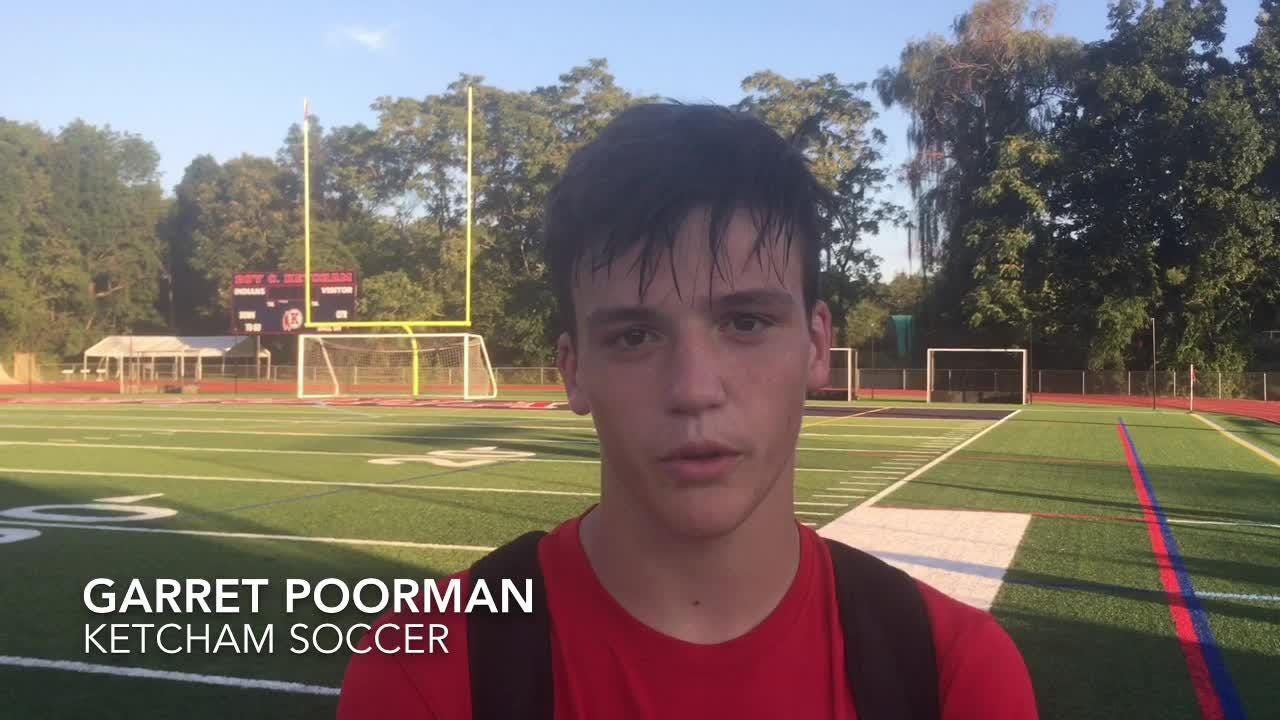 The Roy C. Ketcham High School boys soccer team defeated Beacon 2-0 in its season opener on Thursday.