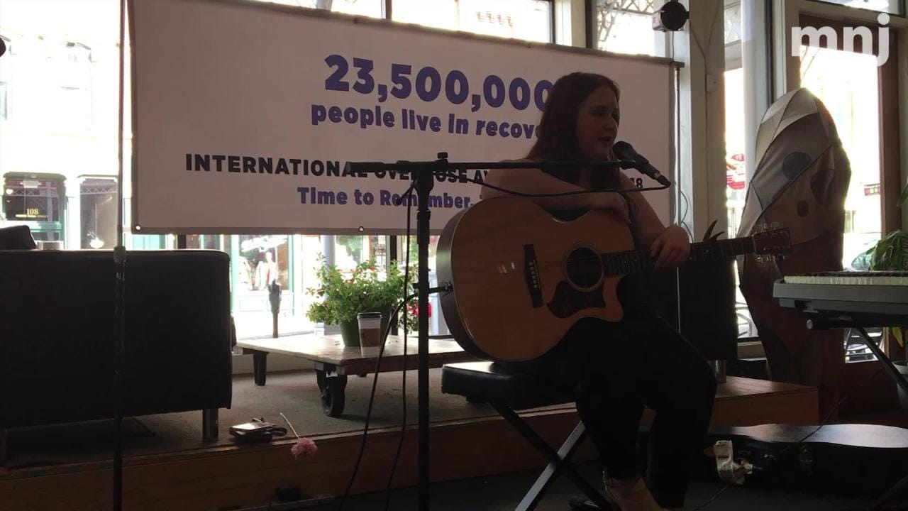 "Jillian Caudill talks about ""Jessica's Song,"" a song she wrote in tribute to a woman in recovery as part of International Overdose Awareness Day."