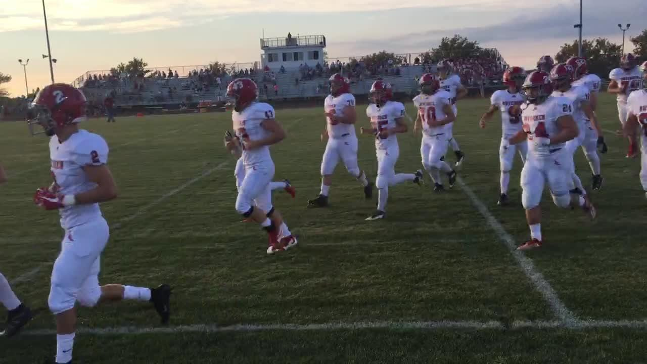 Annville-Cleona takes the field for Thursday night's Section 3 opener