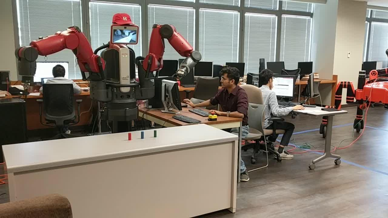 Rutgers robotics team and its computer science department have moved into a new Arts & Sciences building on Spring Street in New Brunswick.