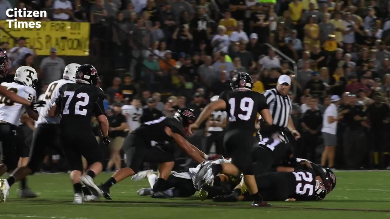 The annual Haywood County rivalry between Pisgah and Tuscola continued on Friday, Aug. 31, 2018 at Pisgah Stadium in Canton.