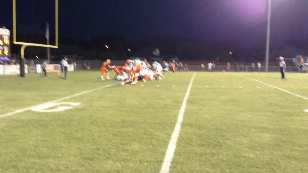 Action from South Gibson's 29-27 win over Bolivar in Region 7-3A action during Week 3.
