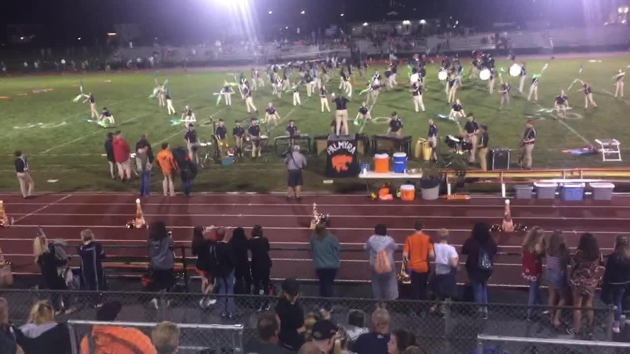 Palmyra band performs at halftime