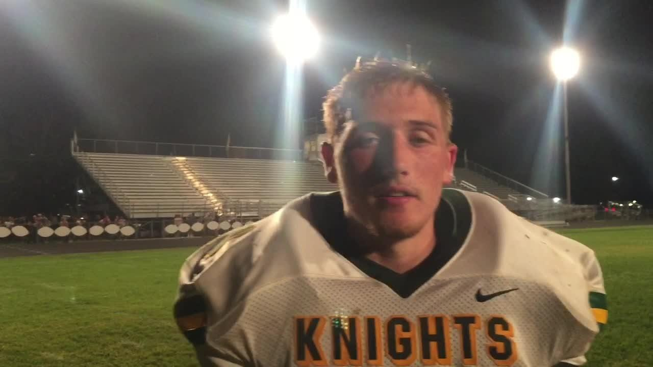 Gammon's big game leads Knights to 3-0