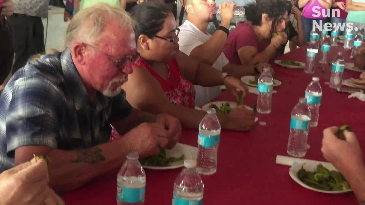 Thousands of chile lovers from around the world attended the 2018 Hatch Valley Chile Festival Labor Day weekend.