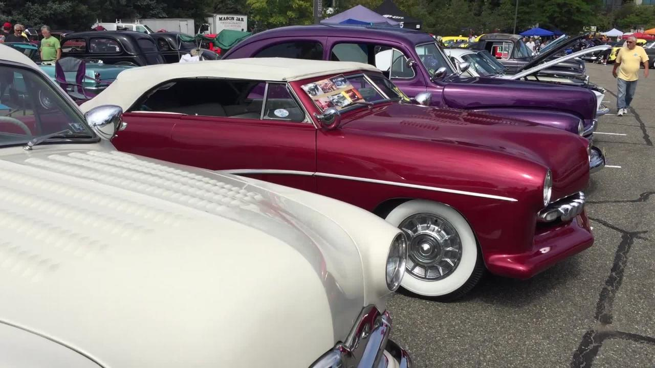 Dead Mans Curve held its 'Wild Hot Rod Weekend' Car Show at Sheraton Mahwah.