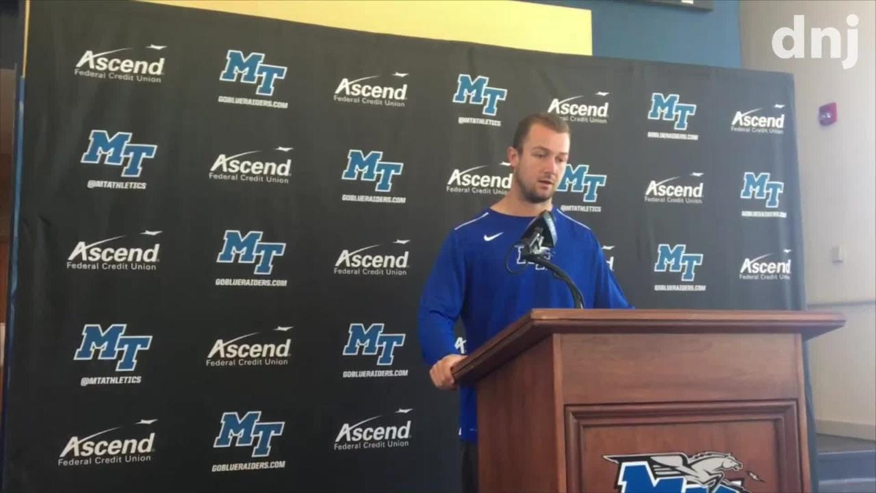 MTSU's Rick Stockstill, Brent Stockstill and Darius Harris on UT Martin