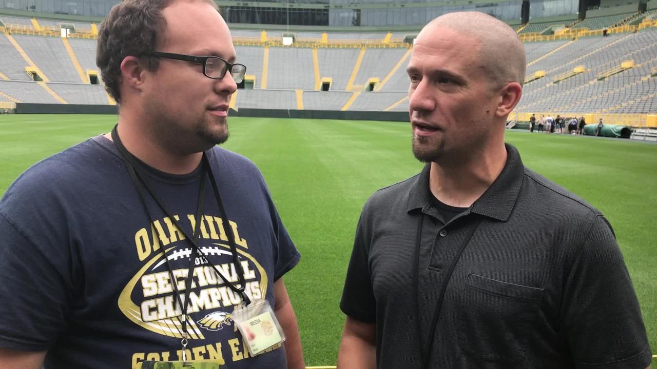 on sale 38660 45f6d Talking Kumerow's 'bittersweet' news, Packers' 'fluid' roster