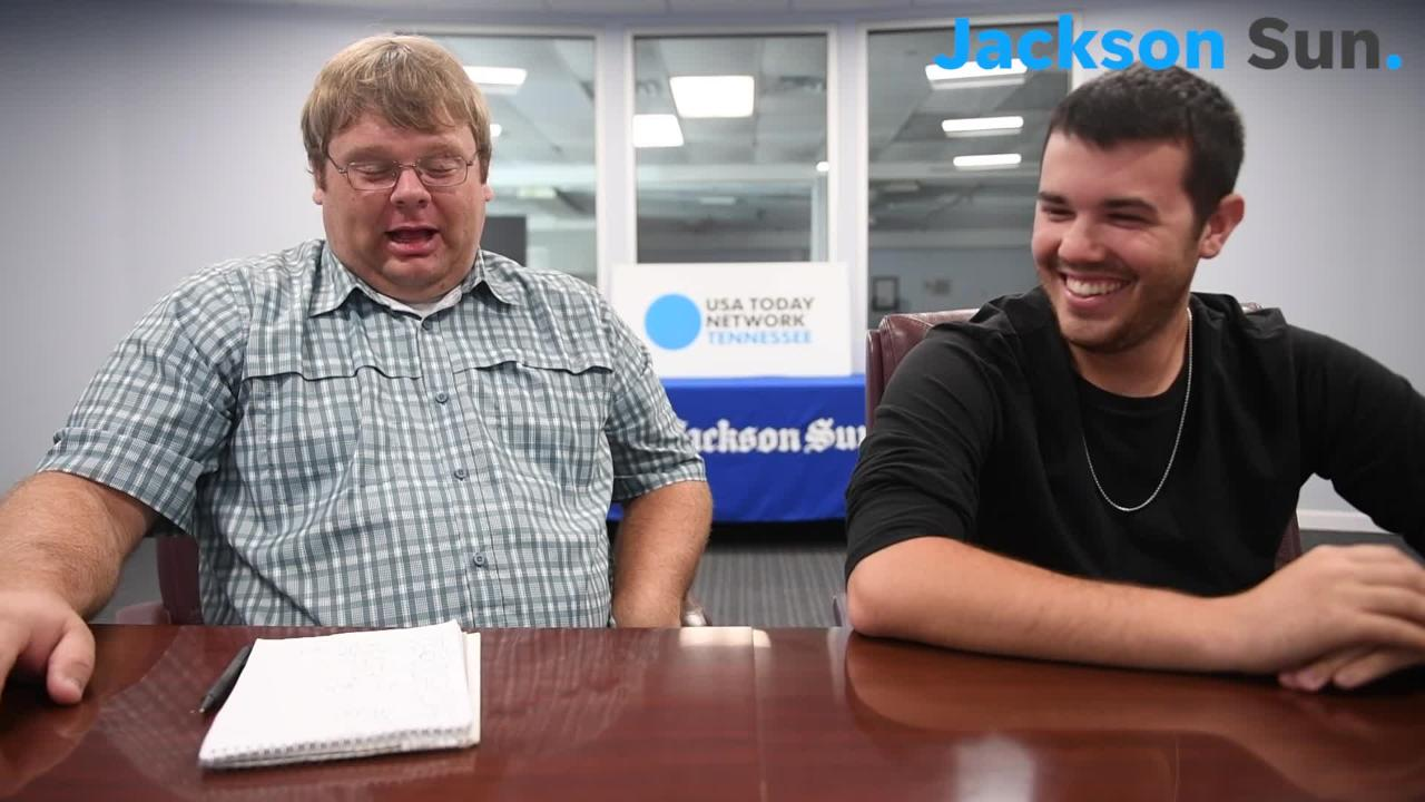 Michael Odom introduces Joe Spears to jacksonsun.com viewers. Spears will be joining the Jackson Sun Sports team.