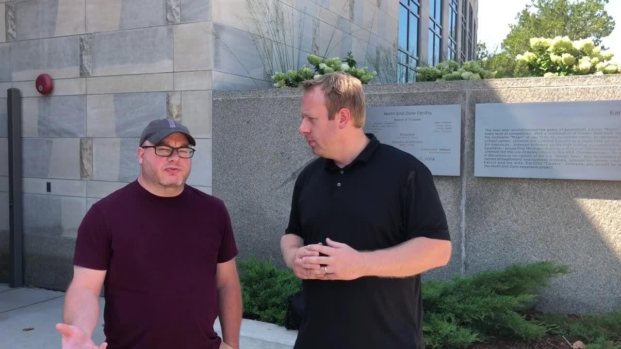 Lansing State Journal columnist Graham Couch and Detroit Free Press / LSJ MSU bear writer Chris Solari break down the matchup ahead for the Spartans.