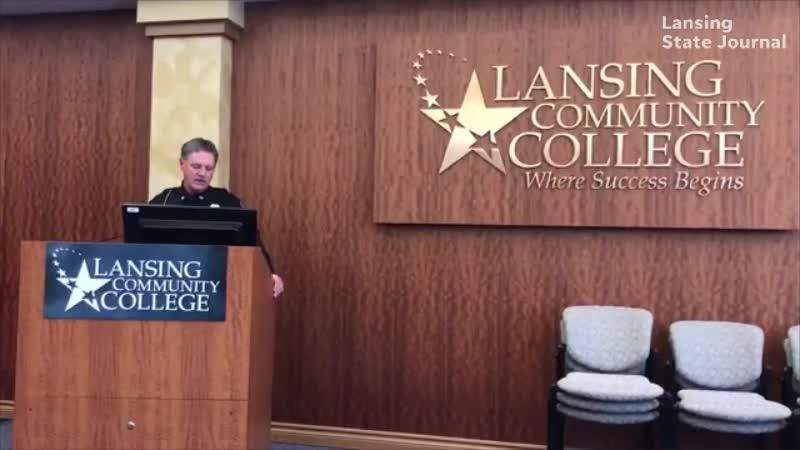 Lansing Community College Director of Police Bill French talks about the threat made to the college and the suspect in custody.