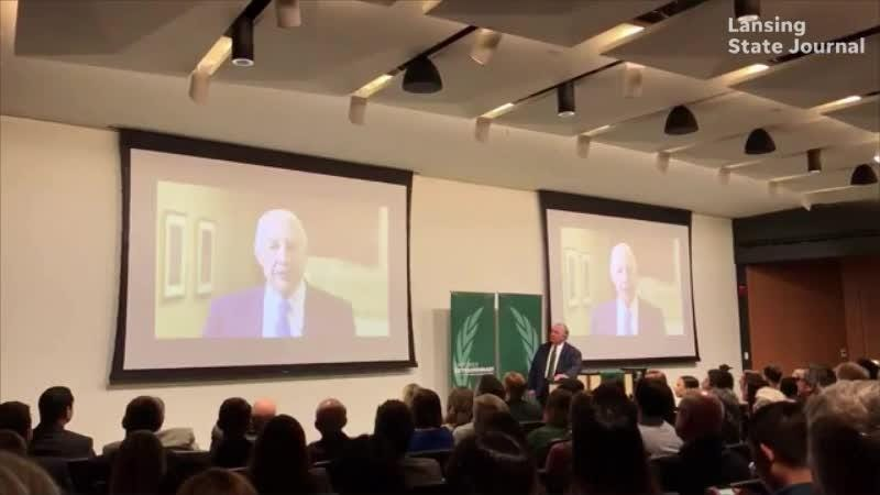MSU alumnus Edward J. Minskoff in a video talks about his $30 million donation to the school, the largest gift in the 163-year history of the school.