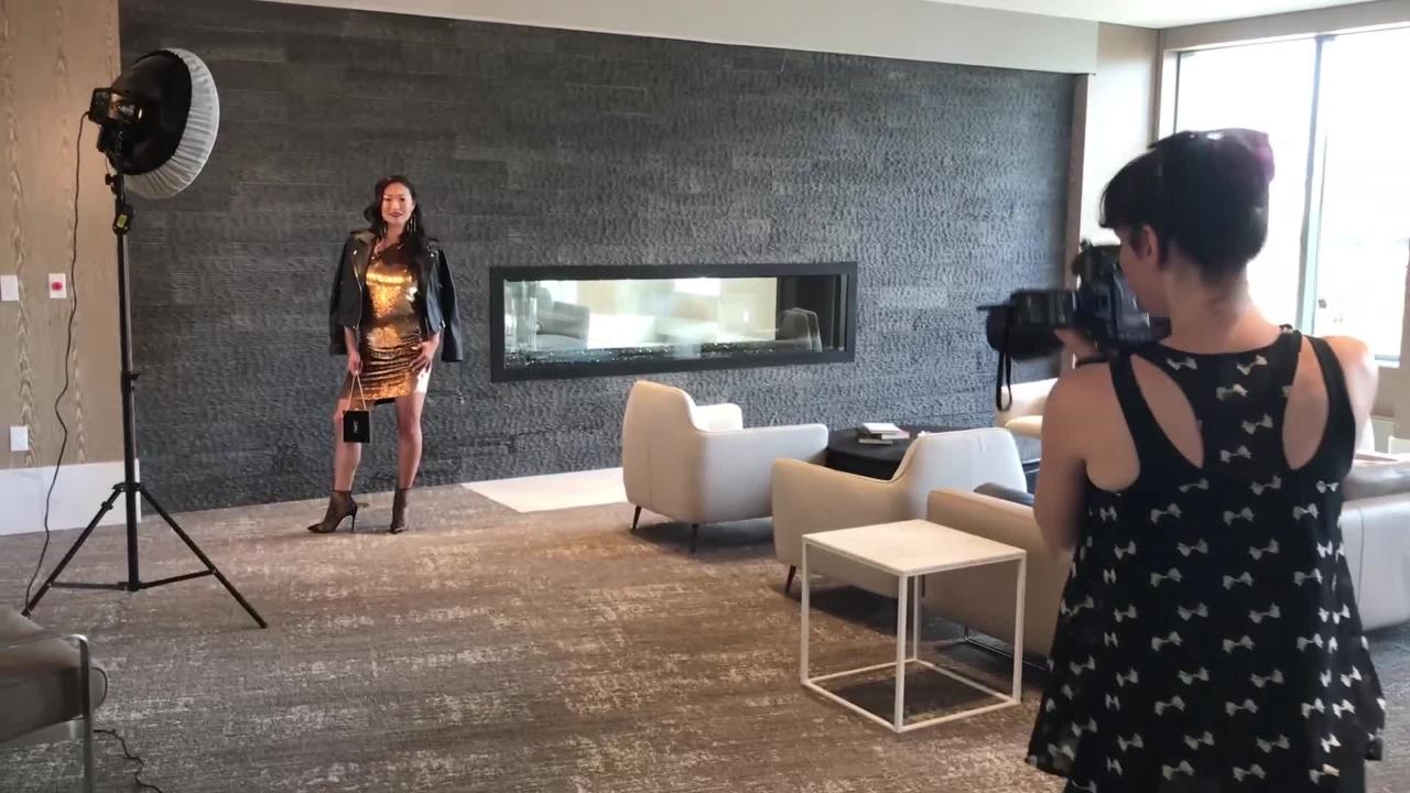 Behind the Scenes at (201) Magazine's 2018 Fall Fashion Shoot at Nine on the Hudson.