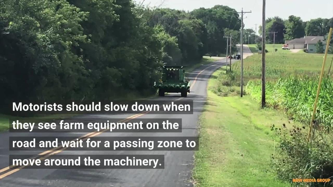 Farmers and motorists need to work together to keep everyone safe on the road.