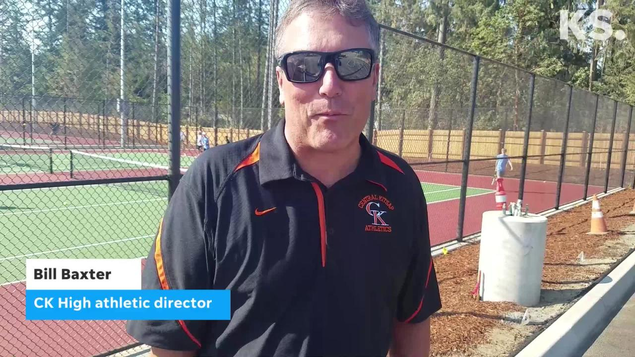 Central Kitsap High School unveiled its new tennis courts and football field this week.